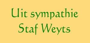 Staf Weyts